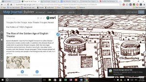 Agas map in my story map