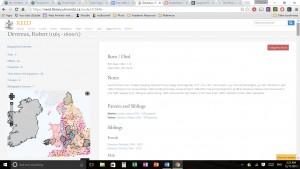 Robert Devereux's page on REED website